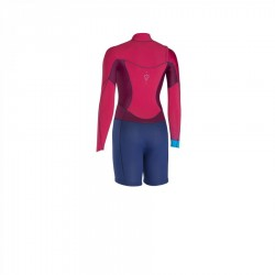 Combinaison Ion Muse Shorty LS 2.5mm Rasperry Blue