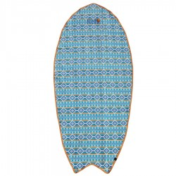 Serviette All In Corail Indian Print Blue