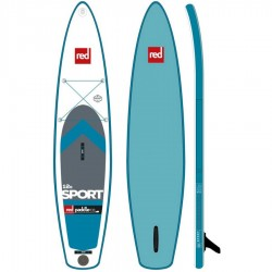 RED PADDLE 12'6 SPORT RSS MSL FUSION