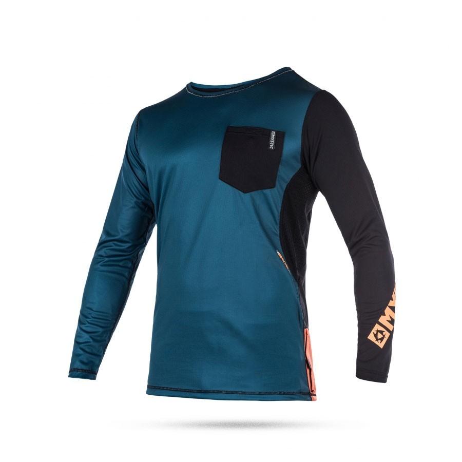 Mystic Sup MVMNT Quick Dry long sleeve vest orange