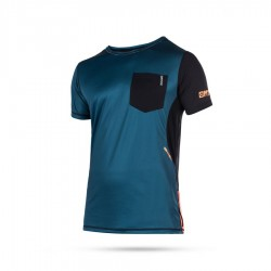Mystic Sup MVMNT Quick Dry short sleeve vest orange