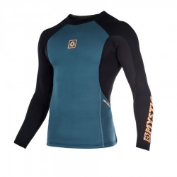 Mystic Sup MVMNT Top long sleeves 1.5 mm orange