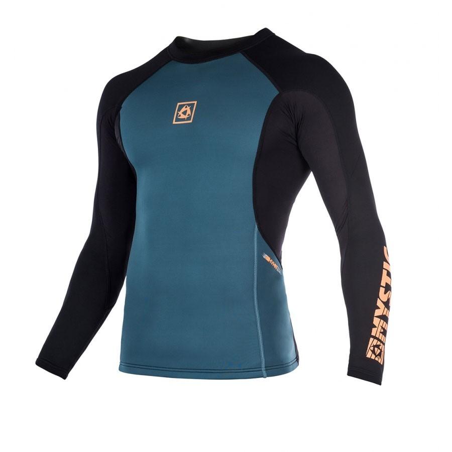 Mystic Sup MVMNT Top long sleeves 1.5 mm orange
