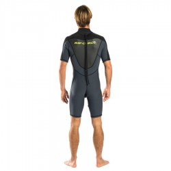 Rip Curl Shorty  Omega 1.5mm Back Zip Charcoal