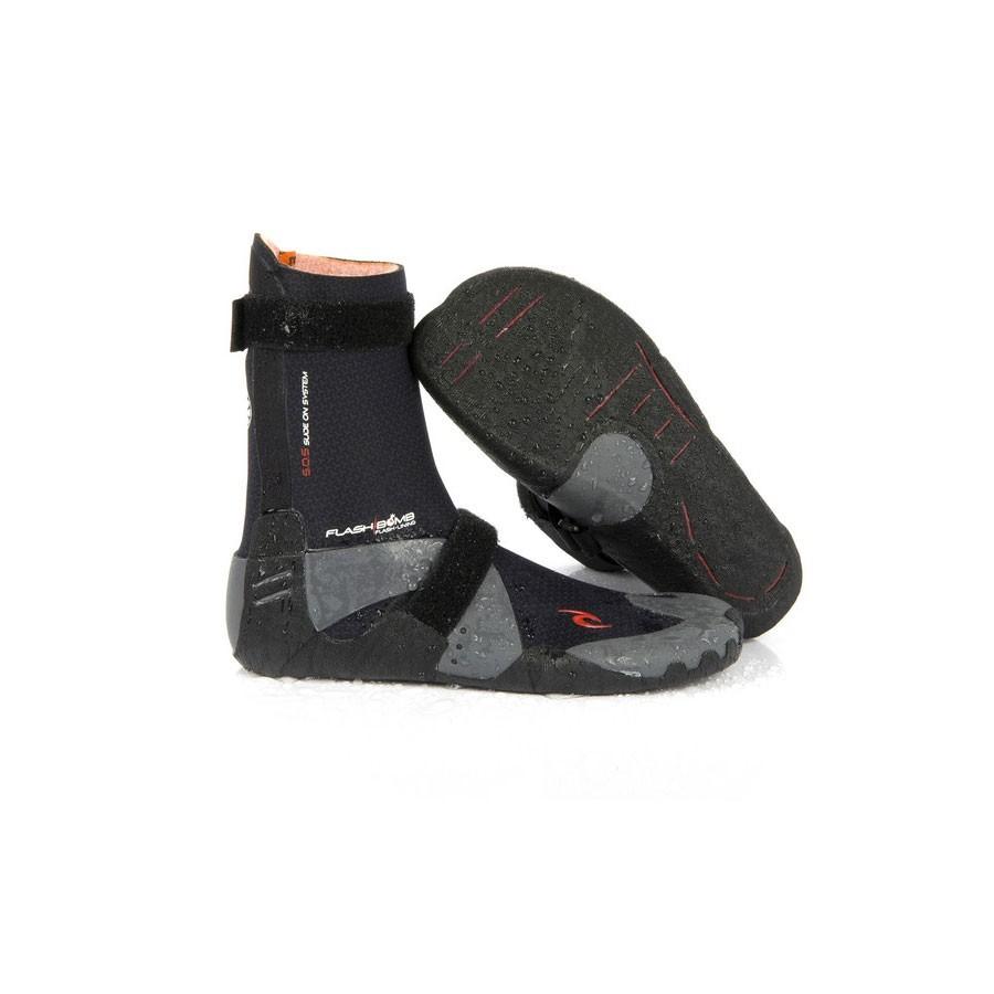 Chaussons RipCurl FlashBomb 5 mm hidden split toe