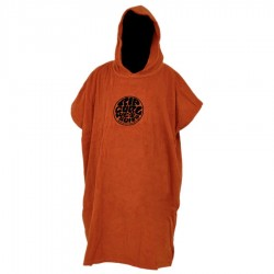 Rip Curl Change Poncho Wettie Logo Ginger Spice