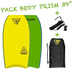 Pack Bodyboard Flood Prism 39''