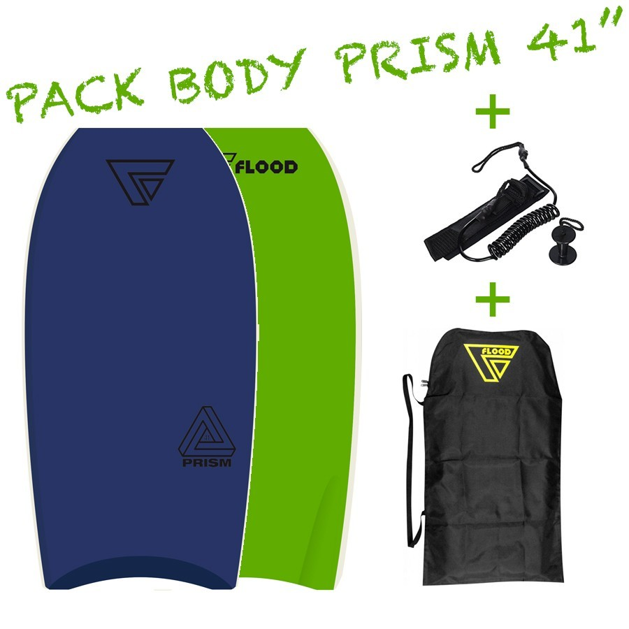 Pack Bodyboard Flood Prism 41''