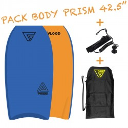 Pack Bodyboard Flood Prism 42.5''