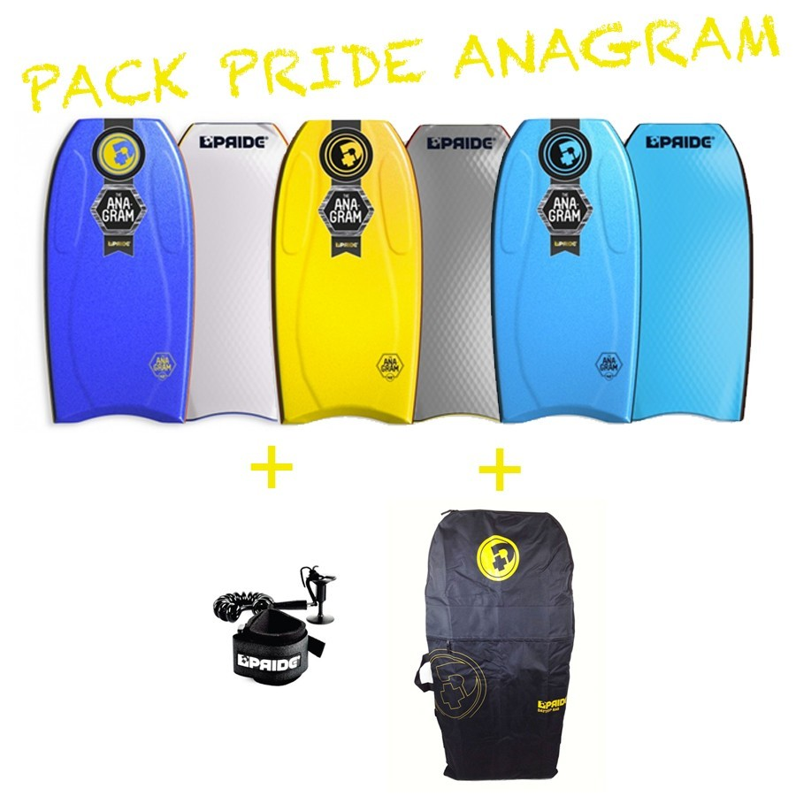 Pack Bodyboard Pride Anagram