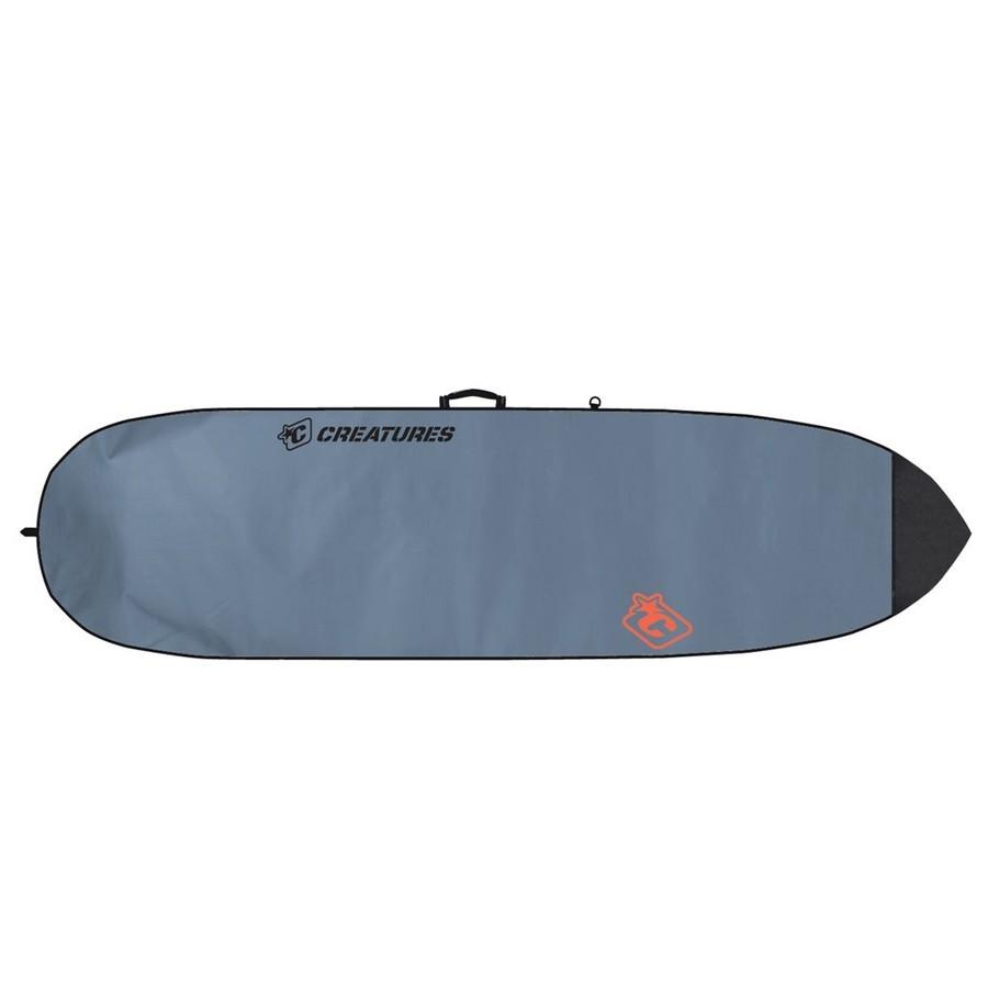 Housse Shortboard Lite 6'3'' Créatures - Charcoal/Orange