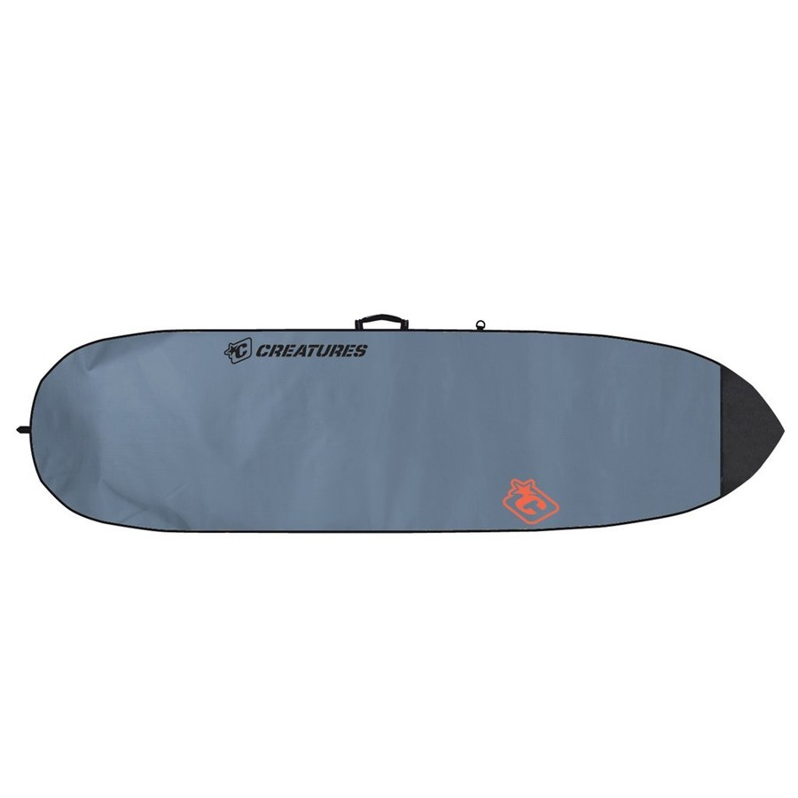 Housse Shortboard Lite 6'7'' Créatures - Charcoal/Orange