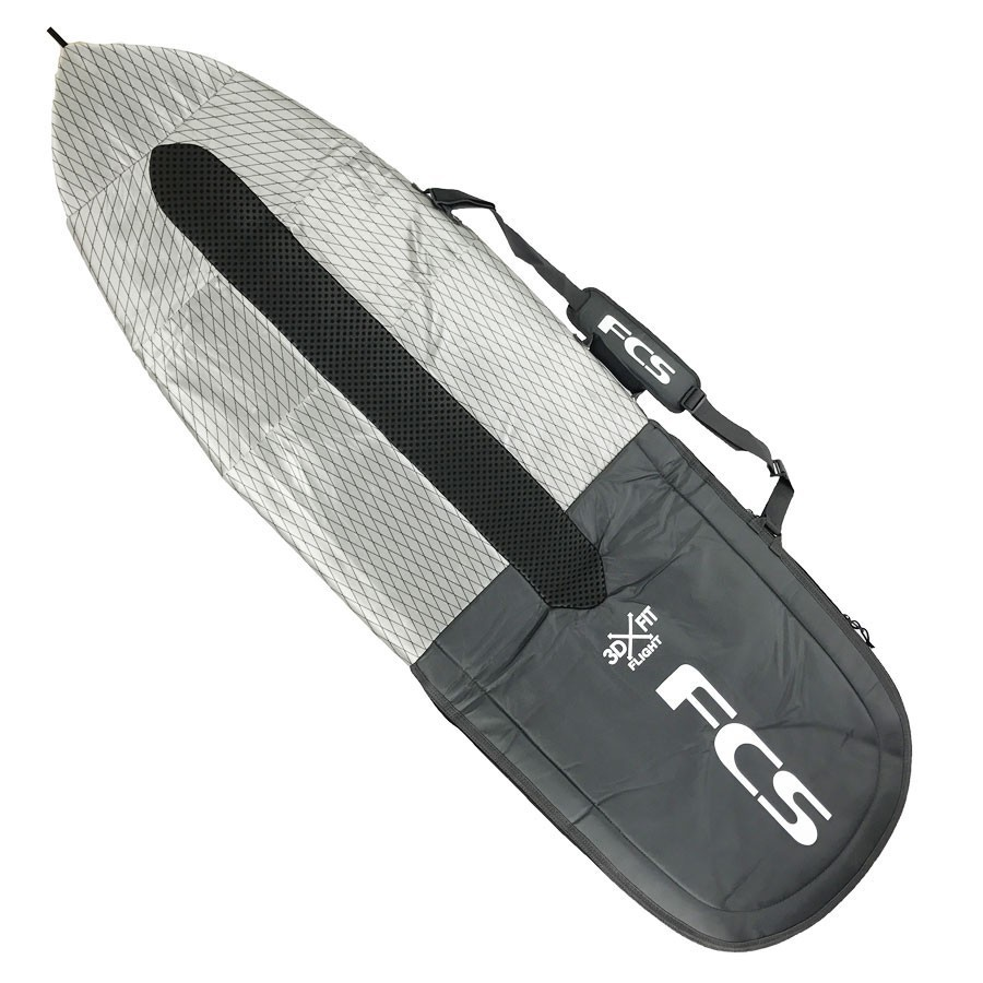 Housse FCS Flight 3DxFit - Funboard 6'3'' - Charcoal