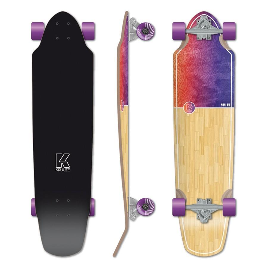 Skate Kruuze Taha heliconia 35''