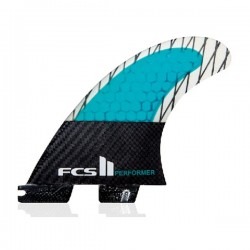 FCS II Performer PC Carbon Tri Fins set