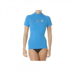Rip Curl Lycra Palm Island Manches Courtes Blanc