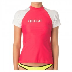 Rip Curl Lycra Manches Courtes pink