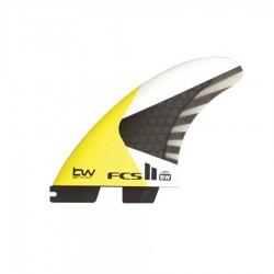 FCS II Ben Wilson PC Carbon Tri Fins Set