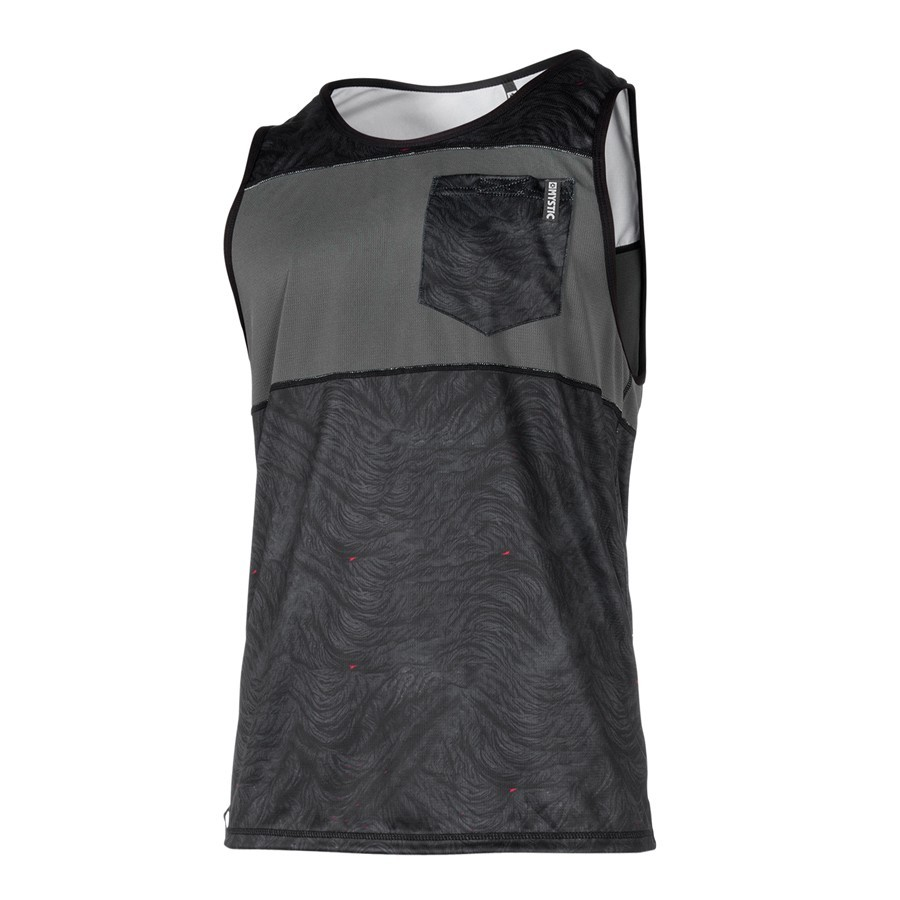 Mystic Stone Quick Dry Tank top black