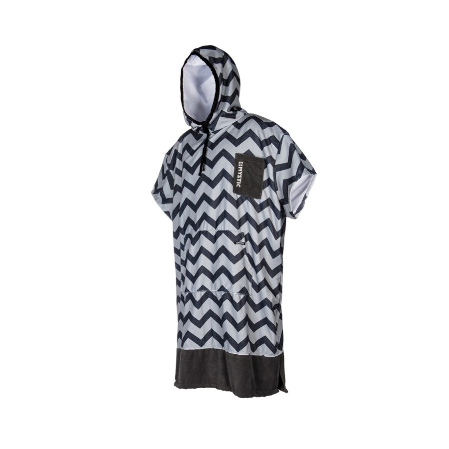 Poncho Mystic All Over Light Grey