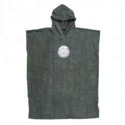 Rip Curl Change Poncho Wettie Logo Forest Night
