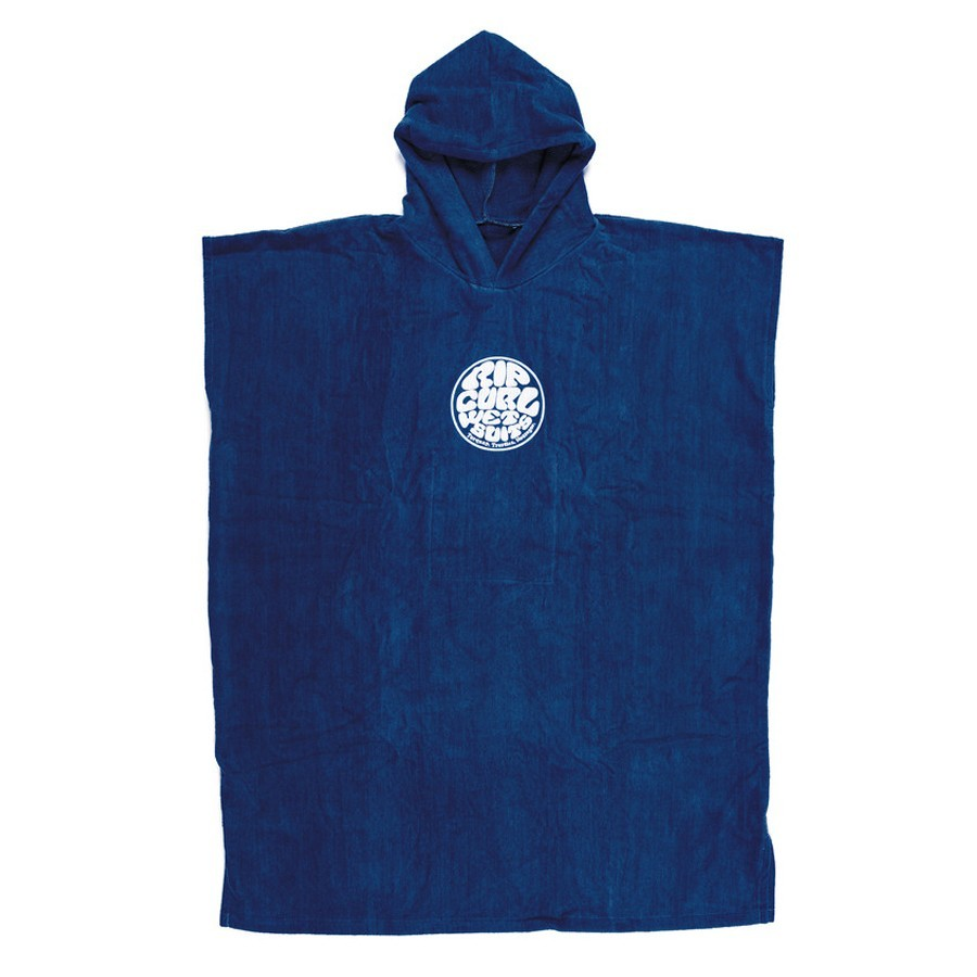 Rip Curl Change Poncho Wettie Logo Nautical Blue
