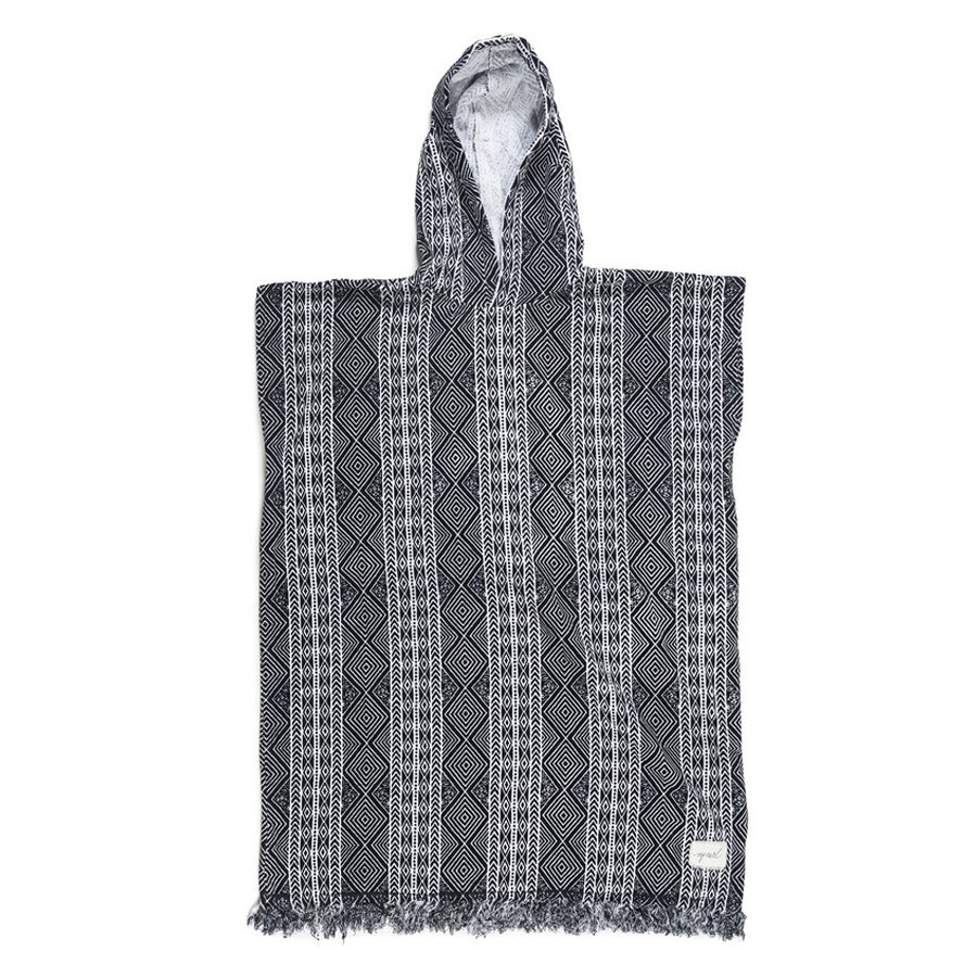 Rip Curl Poncho Black Sands Hooded Towel