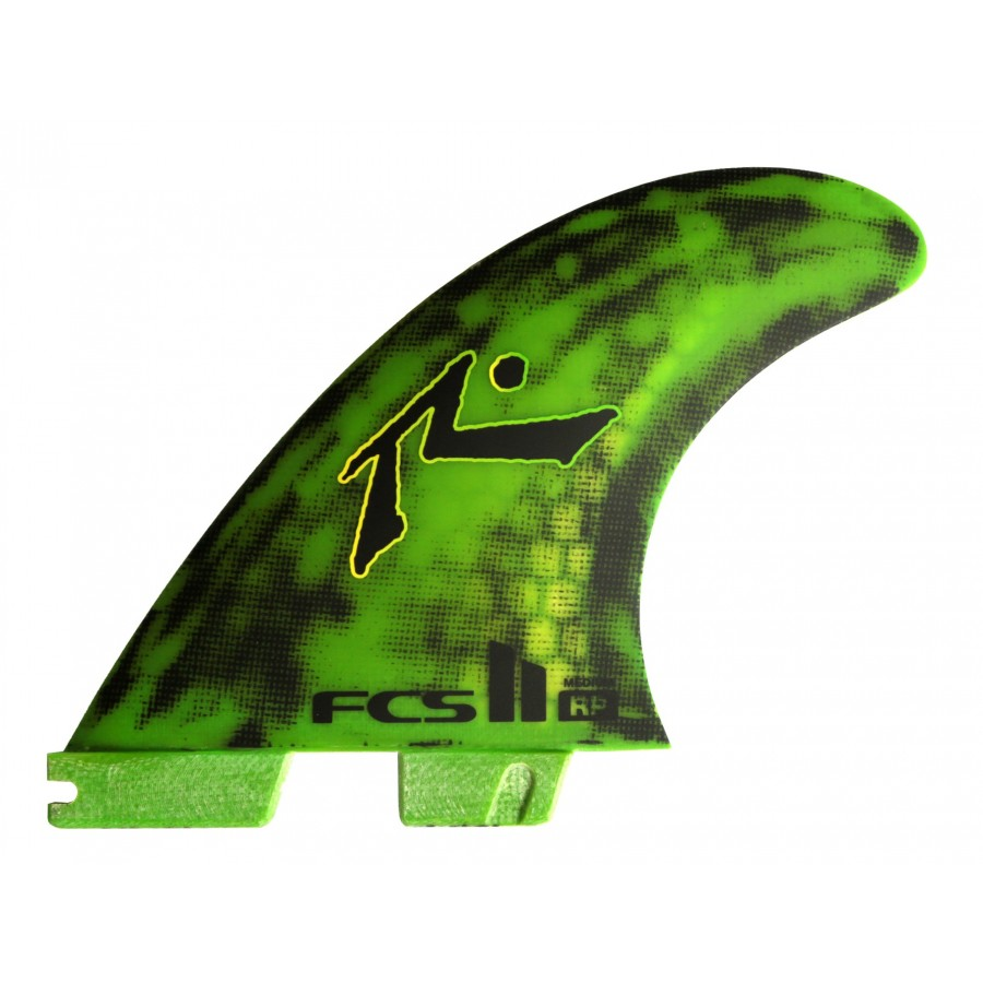 FCS II Rusty PC Tri Fins set