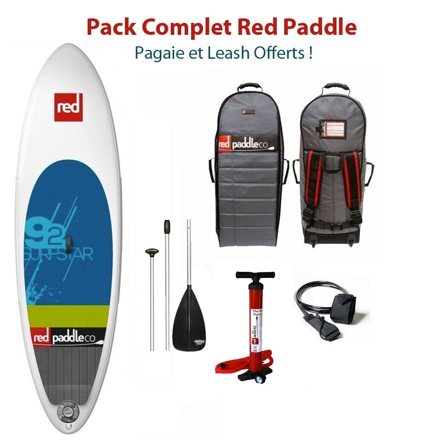 RED PADDLE 9'2 SURF STAR 2015