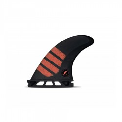 Futures Fins F4 small Tri fins set carbon red
