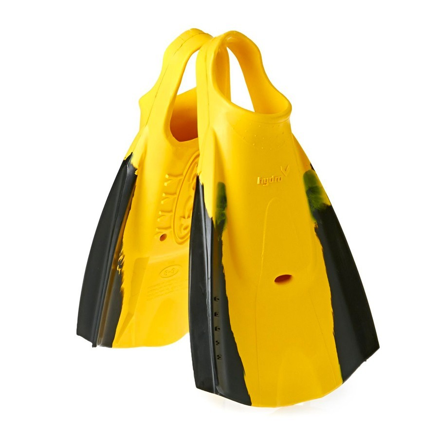 Palmes Hydro Tech Finz noires et jaunes