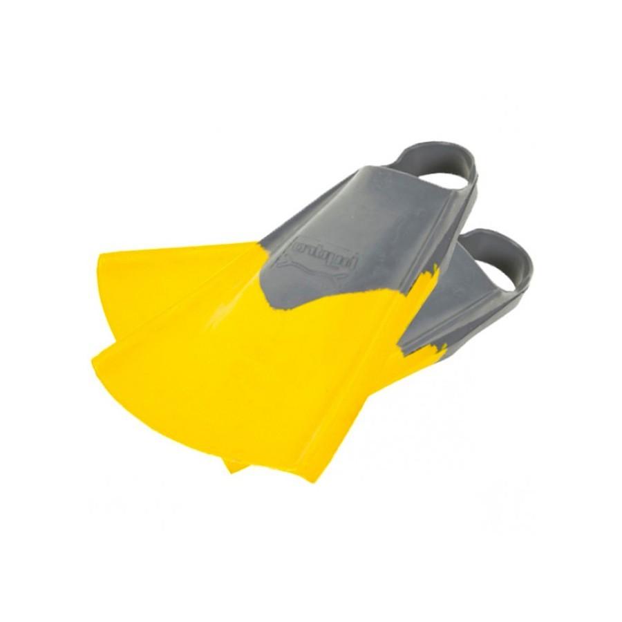 Palmes Hydro Finz Originals 2 grises et jaunes