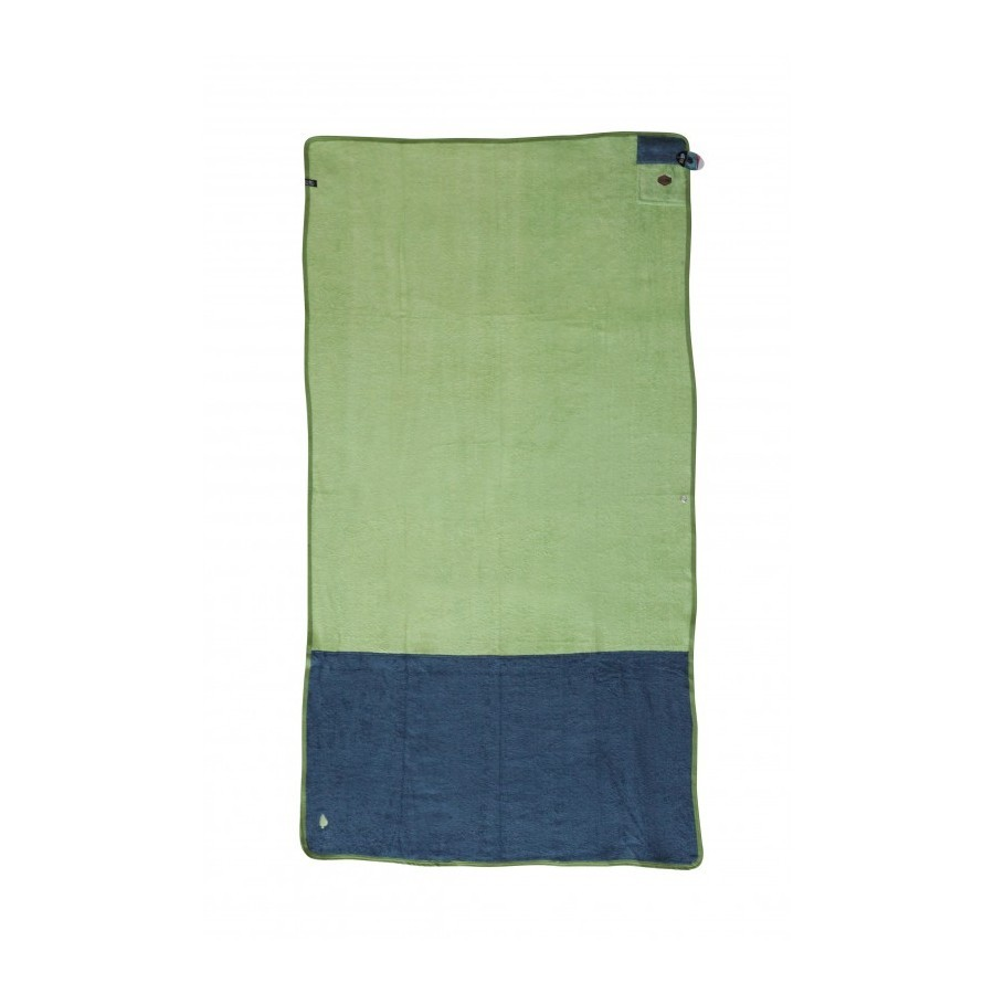 All In Organic Beach Towel paradise green / blue green