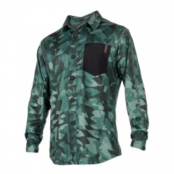 Mystic Shred Blouse Quickdry L/S