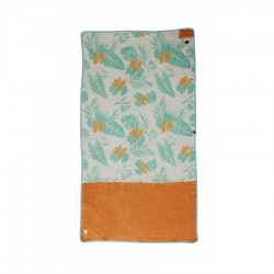 All In Beach Towel melon exotic print