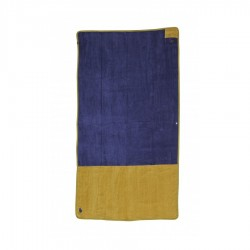 All In Beach Towel navy gold
