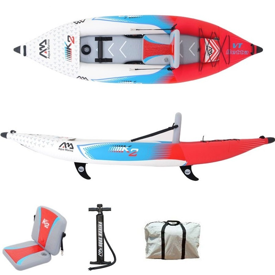 Kayak gonflable 1 place Aqua Marina Betta VT K21