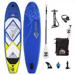 Stand Up Paddle gonflable Aqua Marina Beast 10'6 avec pagaie et Leash