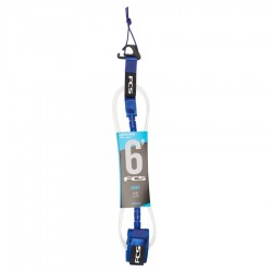 FCS 6' Comp Essential Leash cobalt