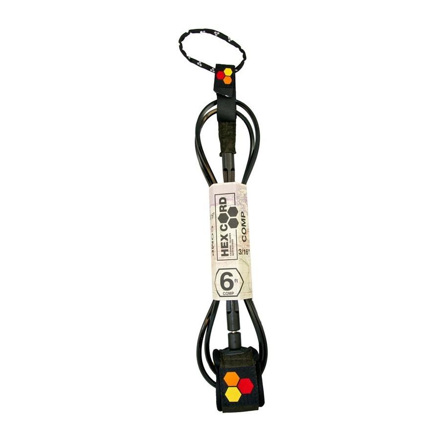 Channel Island leash 6'0 comp black