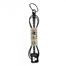 Channel Island leash 5'5 super comp black