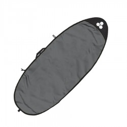"Boardbag Channel Island Feather Lite Specialty 5""7 white charcoal"